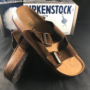Birkenstocks Birko Arizona Dark Brown Wms 10 US